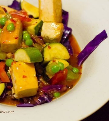 Orange Peel Tofu
