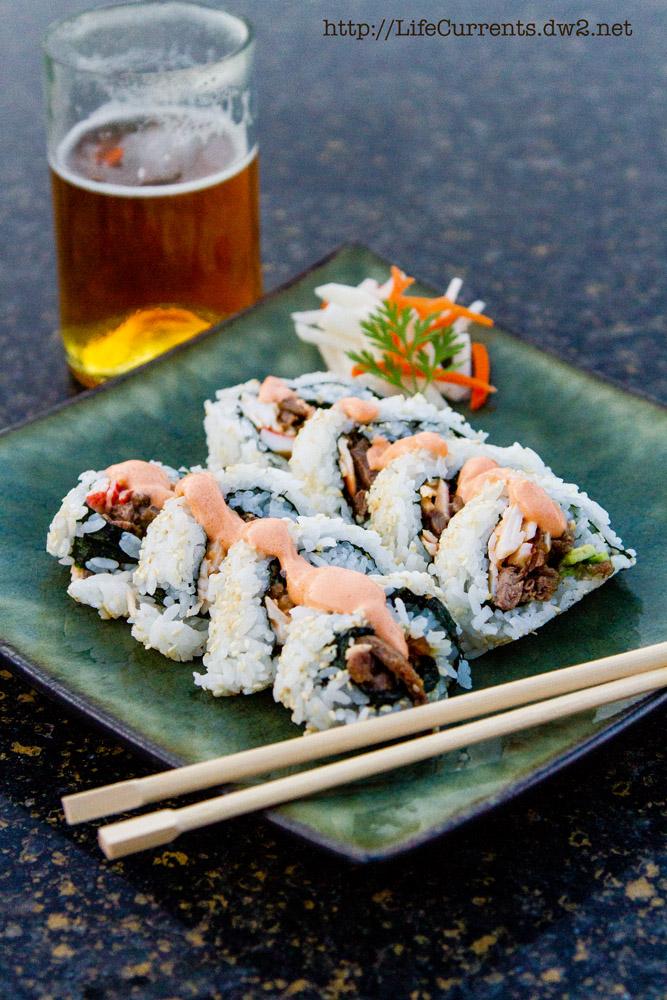 The Dan Roll: Teriyaki Steak Sushi Roll   Life Currents The Dan Roll: Teriyaki Steak Sushi Roll   Life Currents https://lifecurrentsblog.com California Roll Sandwich https://lifecurrentsblog.com
