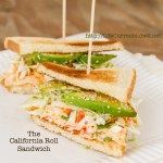 California Roll Sandwich \ https://lifecurrentsblog.com