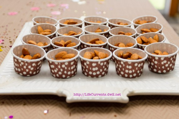 Raw Almonds | Life Currents Maria's Baby Shower: As many of you know, my brother and sister in-law are expecting their first baby soon. Here are some pictures from the shower! #babyshower #party #shower