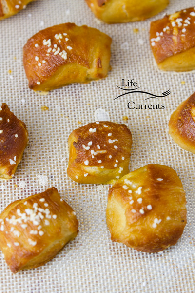 Homemade Pretzels - baked pretzel bites