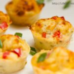 Red Pepper and Shallot Pizza Puffs | Life Currents https://lifecurrentsblog.com