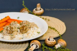 Little Meat Patties and Rice   Life Currents https://lifecurrentsblog.com