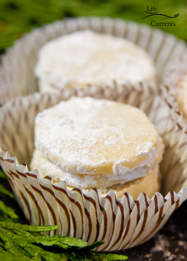 Lime Meltaway Cookies are sweet little shortbread cookies with a kiss of lime