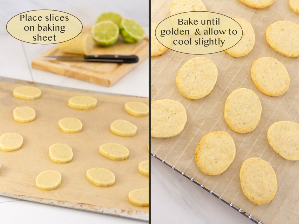 how to make Lime Melt away Cookies.