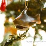 Christmas Shark! nautical decorations Life Currents