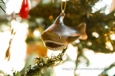 Christmas Shark! nautical decorations Life Currents Enter to win a $300 amazon Gift Card