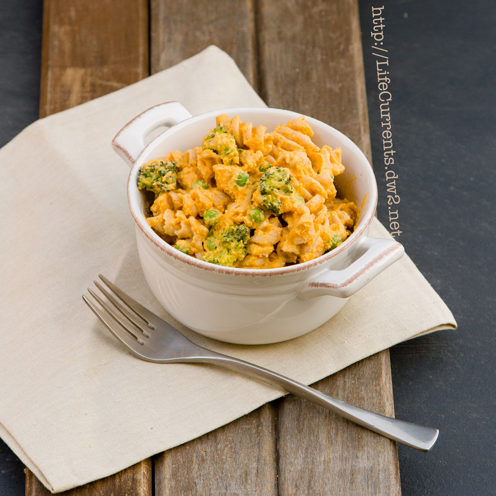 "Butternut Squash ""Mac"" & Cheese 