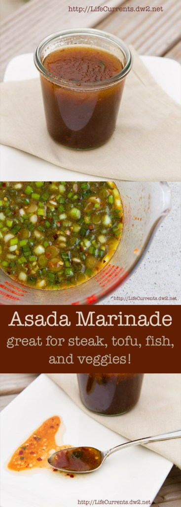 Carne Asada or Pescado Asada or Tofu Asada, no matter what you use this marinade for, it's the perfect traditional Mexican Asada flavors
