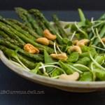 Spring Salad with White Balsamic Basil Vinaigrette | Life Currents http://lifecurrentsblog.com #salad #spring #healthy