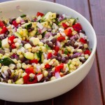 Mexican Cron Salad | Life Currents #Mexican #vegan #salad