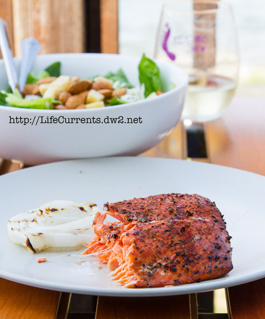Cedar Plank Grilled Salmon | Life Currents