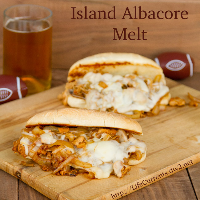 Island Trollers Albacore Melt for Tailgating Snacks month  |  Life Currents  https://lifecurrentsblog.com