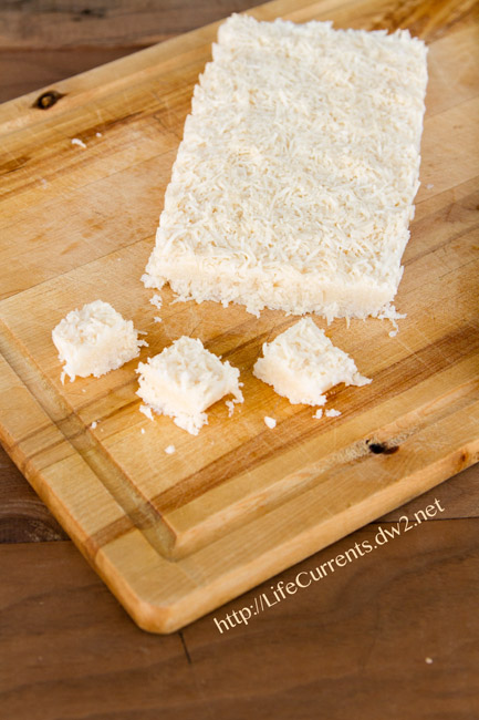 Coconut Bars are tasty little vegan treats filled with healthy coconut goodness | Life Currents paleo https://lifecurrentsblog.com
