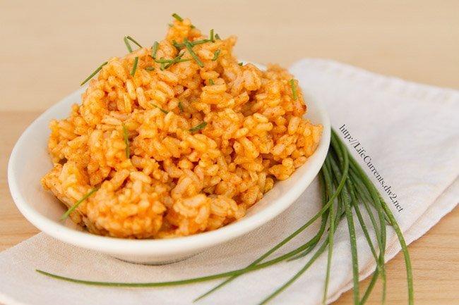 Sheet Pan Creamy Poblano Tacos - Chipotle Seasoned Rice