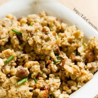 Vegetarian Holiday Stuffing
