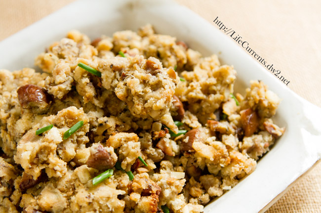 Vegetarian Holiday Stuffing | Life Currents