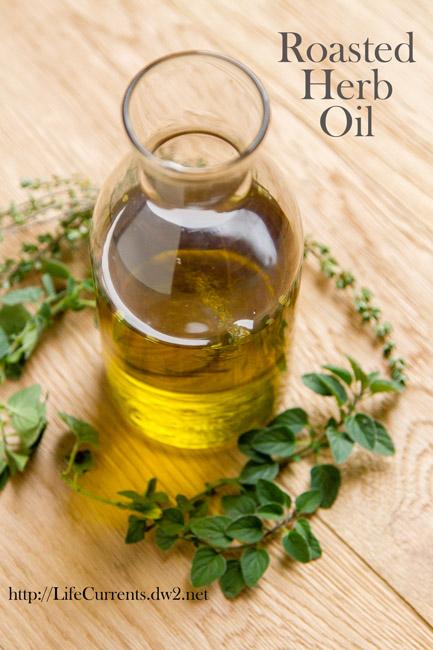 Roasted Herb Oil