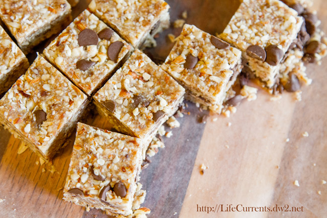 Coconut Oat Bars from Tasting Page, photo by Life Currents https://lifecurrentsblog.com