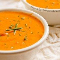 Tomato Parmesan Slow Cooker Soup