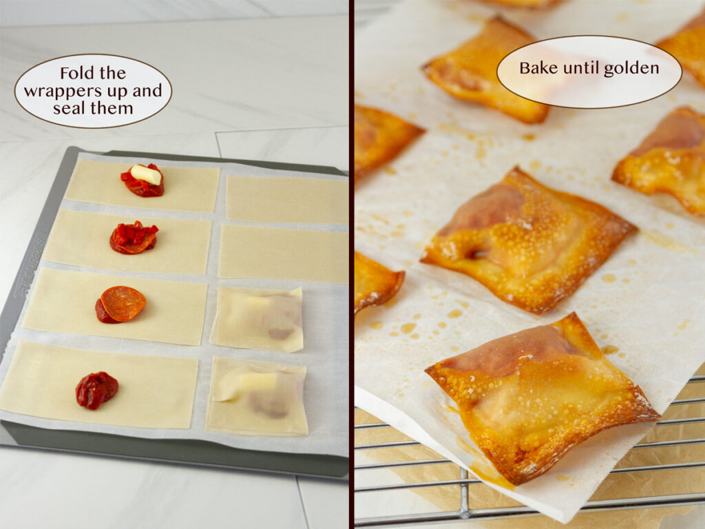 how to make pizza rolls at home