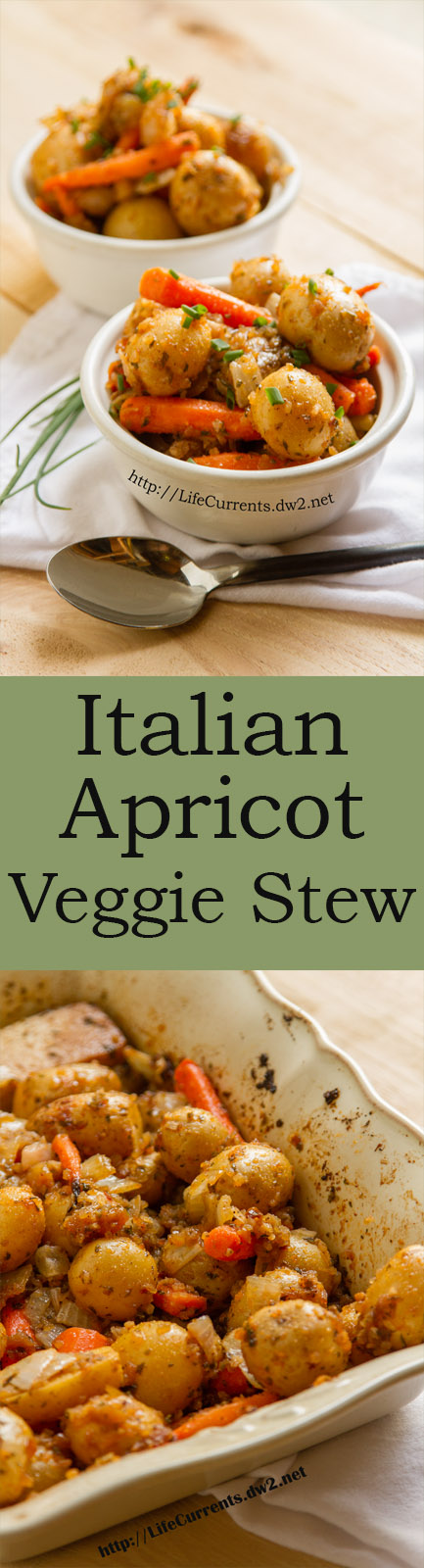 Vegetarian Italian Apricot Stew Recipe