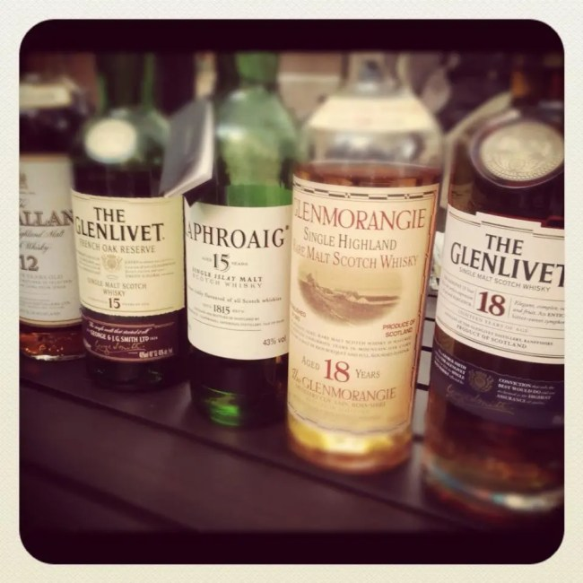 Scotch tasting at Dave's by Life Currents