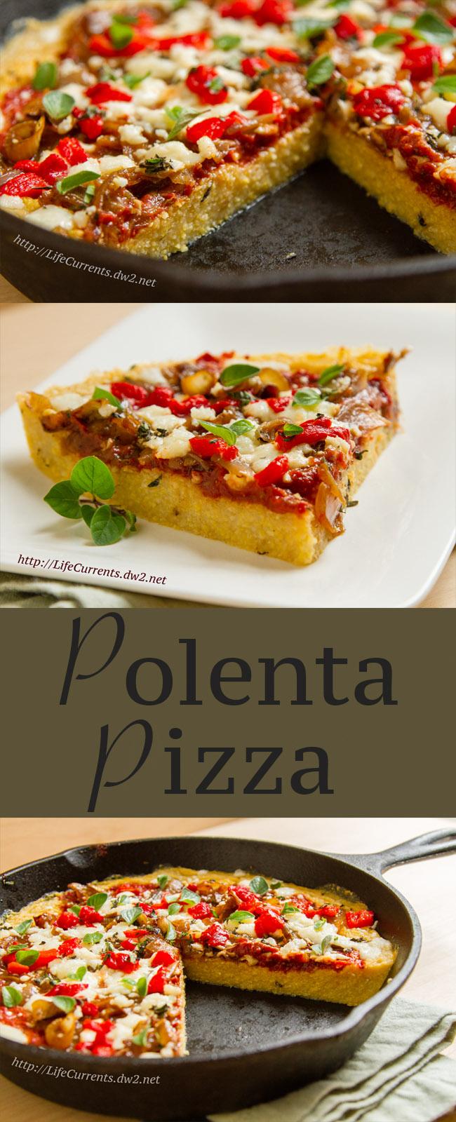 Polenta Pizza Recipe healthy pizza