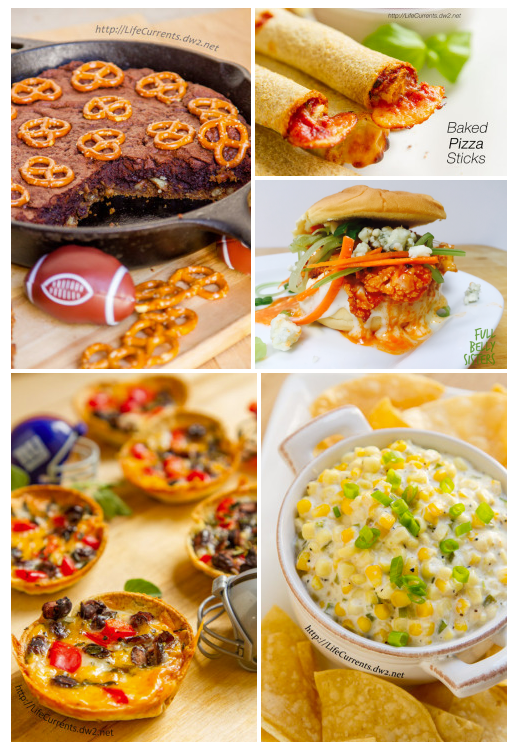 Tailgating Snacks 2015 Round-up from October is Tailgating Snacks Month