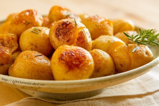 Potatoes Fondantes