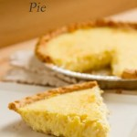 Coconut Custard Pie -- comforting, homey, simple to make, and delicious. It'll remind you of being a kid again! by Life Currents https://lifecurrentsblog.com
