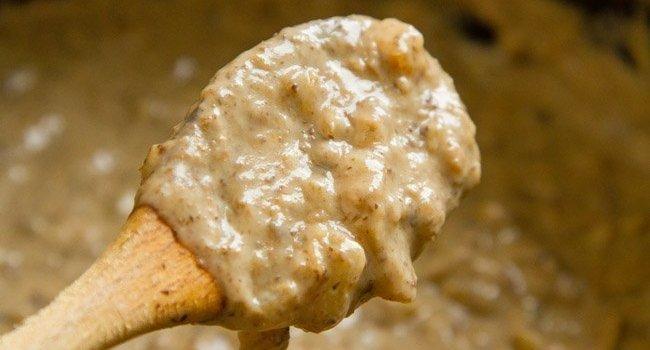 Homemade Cream of Mushroom Soup