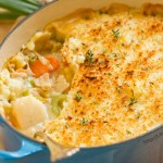 This Seafood Shepherd's Pie or Fisherman's Pie would make a really impressive dinner for the fish lover in your family. It's great healthy comfort food, that's filled with seafood goodness, lots of veggies, and a nice flavorful sauce. by Life Currents http://lifecurrentsblog.com