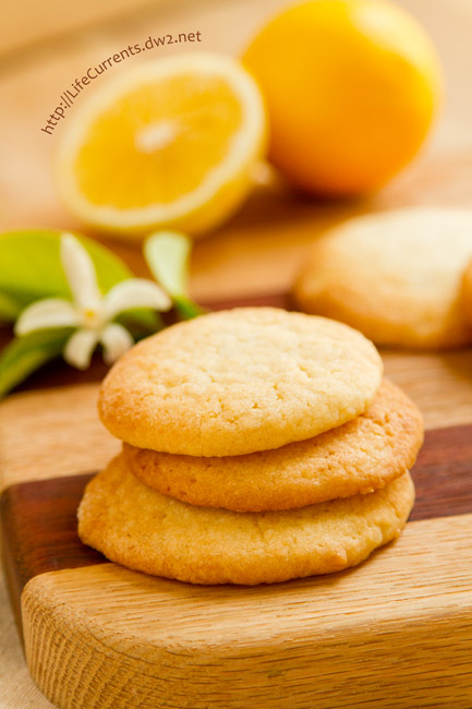 Lemon Sugar Cookies by Life Currents