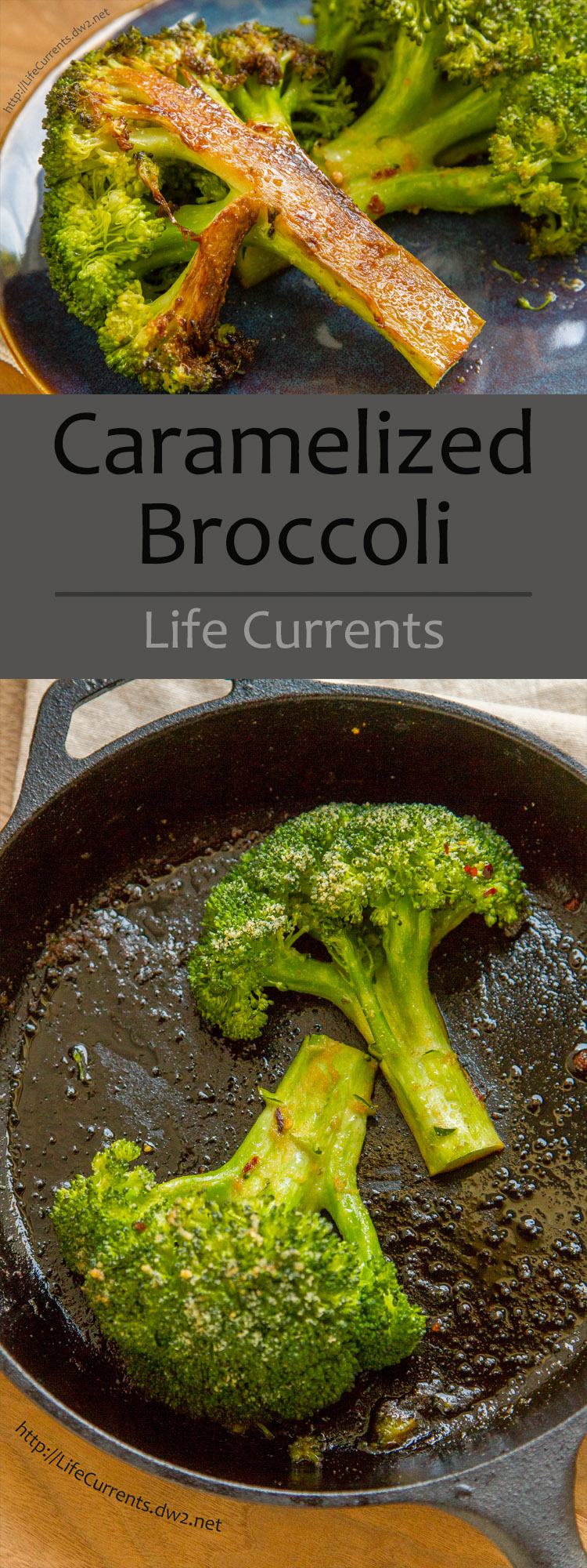 Even if you have picky eaters at home who say they don't like broccoli, this recipe for Caramelized Broccoli will get them to change their minds!