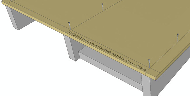 Wheelchair Accessible Ramps Post with Free Building Plans DIY Ramp Screw Guide Lines