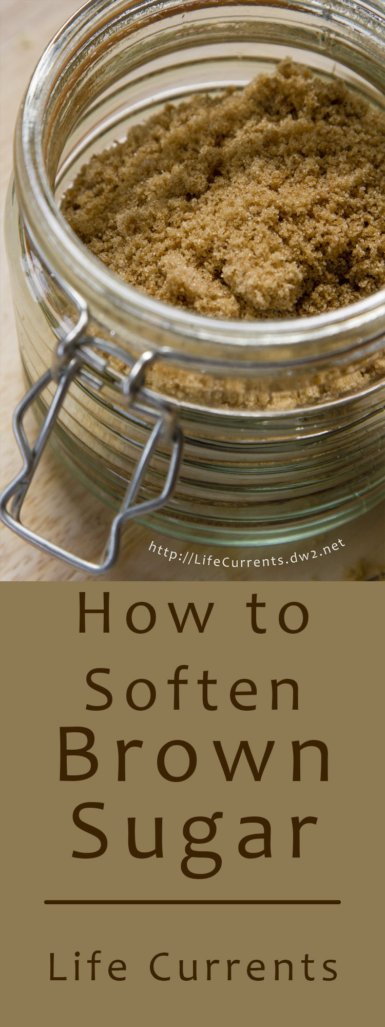 How to Soften Brown Sugar that's turned rock hard. Easy method that takes almost no time at all to make Brown Sugar soft again