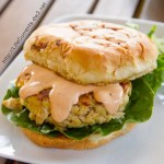 Island Trollers Tuna Burgers with Chipotle Mayo are perfect for summertime eating fun! Yummy, easy to make up, healthy, and fun!