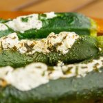Stuffed Zucchini grilled to veggie perfection!