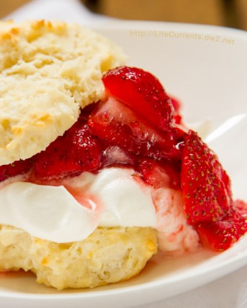 Mom's Strawberry Shortcake is the perfect dessert for summer!