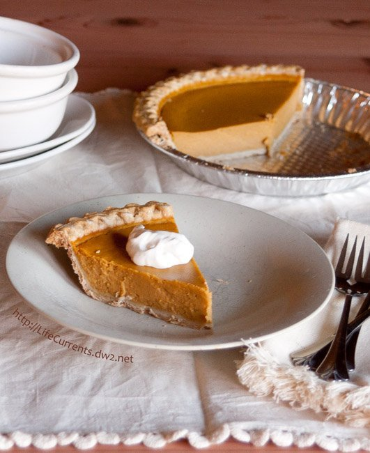 This is the best Pumpkin Pie ever, seriously! - Life Currents