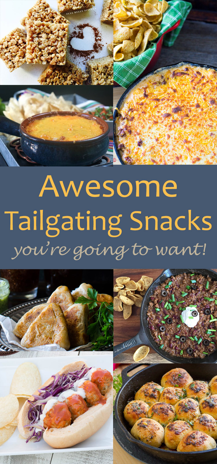 Amazingly Delicious - 12 Tailgating Snacks that you're gonna want to eat!