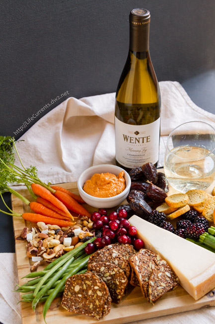 A Wonderful Wine and Cheese Party Featuring Wente Vineyards Wines is a stress-free way to entertain friends and family during the holidays #WenteVineyards #AD
