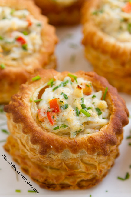 Crab Imperial Appetizer is an elegant appetizer, and tastes like it came from a lovely fancy restaurant. They're perfect for a special occasion like New Year's Eve, for any holiday entertaining, or for a football party!
