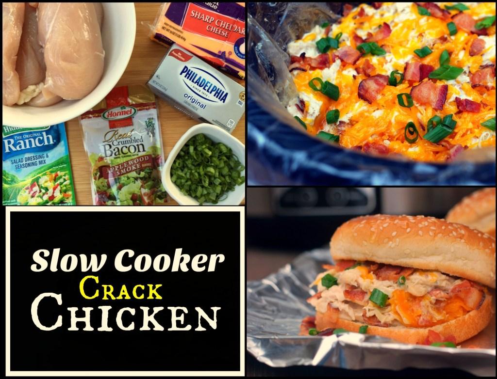 Easy Crock Pot (Slow Cooker) Meals - Slow Cooker Crack Chicken