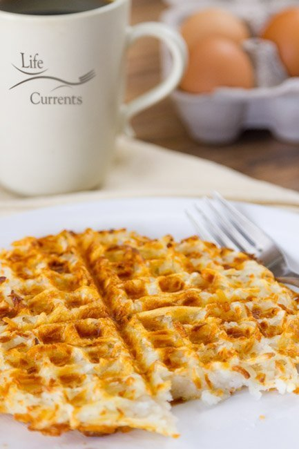 Waffle Iron Hash Browns recipe breakfast