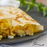 Tuna, Egg, and Cheese Crepes recipe - great comfort food at home