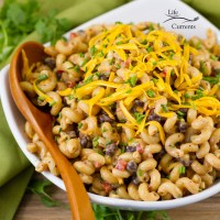 Loaded Southwestern BBQ Pasta Salad