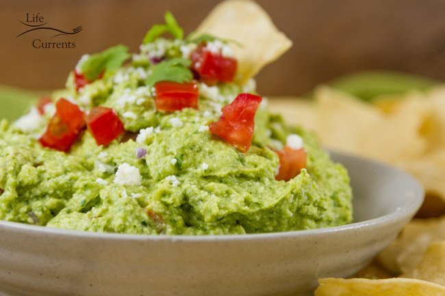 Mexican Avocado Cotija Dip is so good! an impressive and fancy dip that's perfect for entertaining.