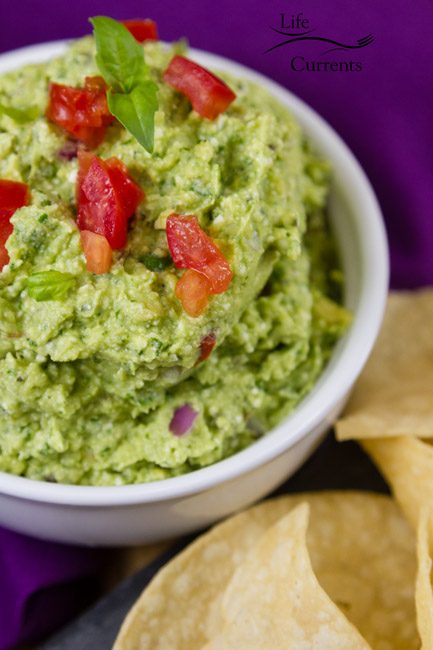 Mediterranean Avocado Feta Dip is filled with wonderful earthy basil and salty feta cheese. This dip will be welcome at your next party!